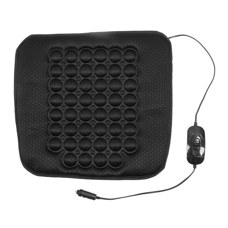 12V Black Car Heated Seat Cushion Cover Auto Heating Heater Warmer Pad