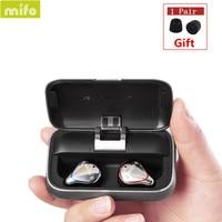 NEW Mifo O5 Bluetooth 5.0 True Wireless Bluetooth Headset Binaural Mini Earbuds In Ear HIFI Waterproof Earphones free shipping