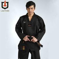 Black Master taekwondo uniform taekwondo dobok wtf TKD clothes mooto dobok uniform belt dobok taekwondo mooto free shipping