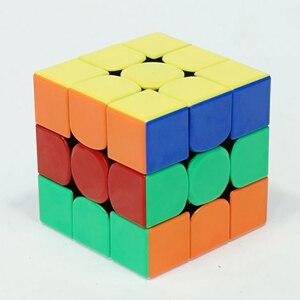Image 5 - Gan356R S 3x3 магический куб скоростной 3x3 профессиональный пазл без наклеек Gan356 R 3x3 Cubo Magico GES v2 Gan 356 R головоломки для взрослых
