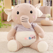 цены 1 Pcs Baby Stuffed Plush Toys for Children Boys Toys Kawaii Kids Adult Soft Elephant Animal Girls Toy for Boy Doll Birthday Gift