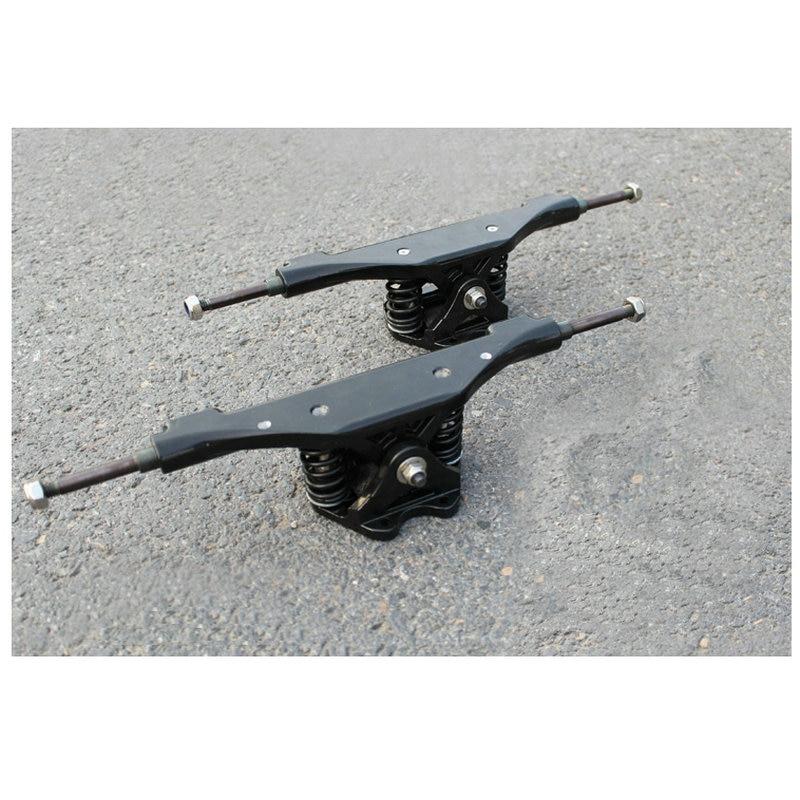 2pcs 11inch Electric Skateboard Truck Aluminum Hot Skateboard Bridge Long Board Trucks Black Skateboard Truck Long