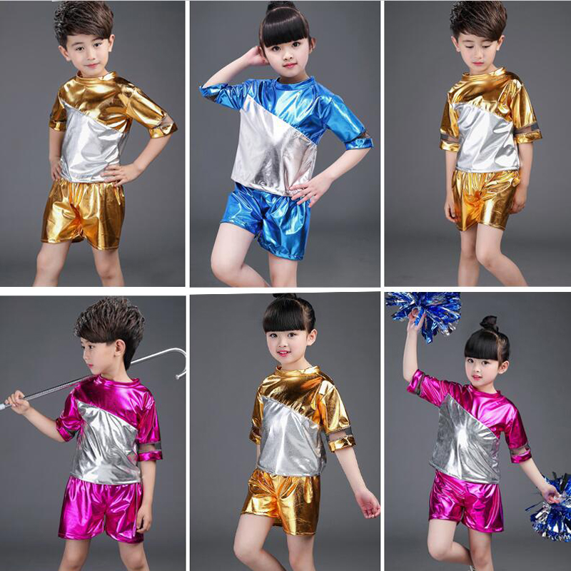 5e7354d81 New Years Day New Childrens Jazz Dance Boy Sequined Kindergarten ...