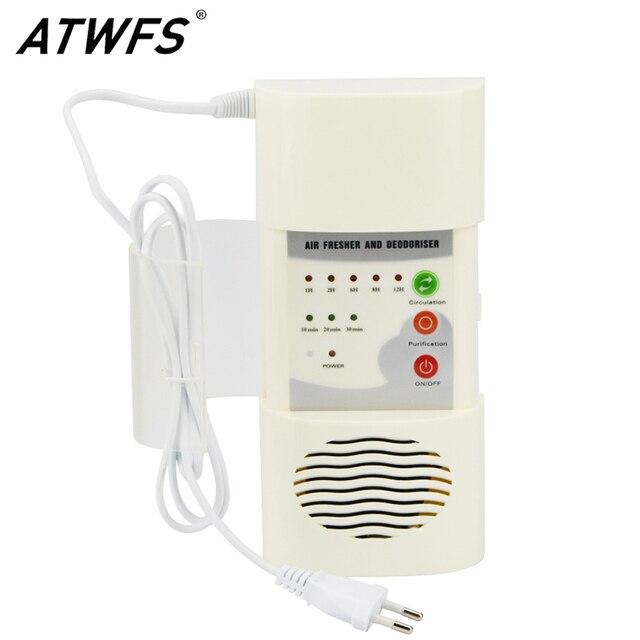 Atwfs Портативный генератора озона Воздухоочистители 220 В воздухоочиститель кислорода ионизатор генератор Стерилизация Дезинфекция чистой комнате