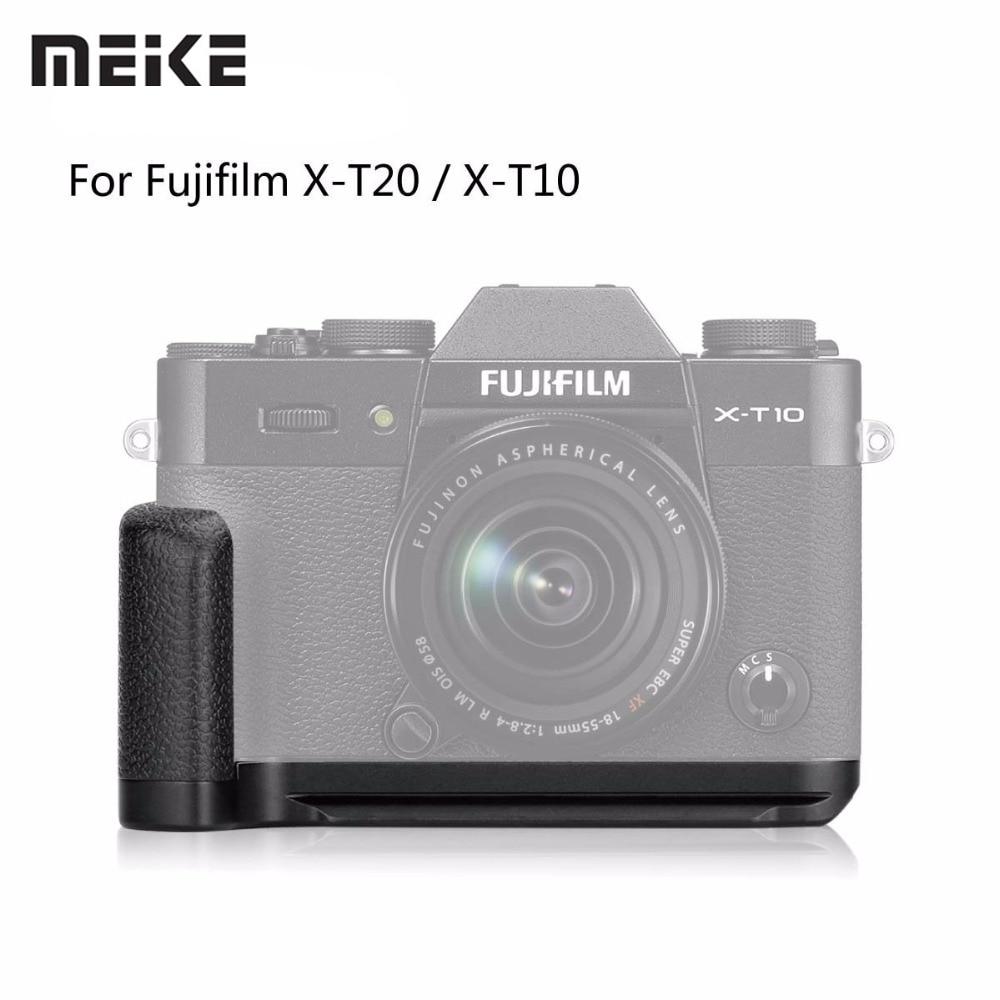 Meike XT20G Aluminum Alloy Hand Grip Quick Release Plate L Bracket for Fujifilm X T20 X