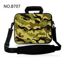 Camouflage Neoprene Laptop Shoulder Bag For Notebook Netbook