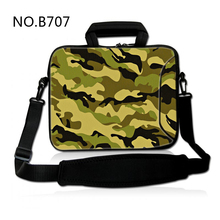 Camouflage Neoprene Laptop computer Shoulder Bag For Pocket book Netbook Sleeve Circumstances Pill Pouch For 7 eight 10 12 13 13.three 14.1 15 15.6 17