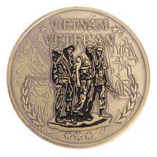 Ветеран войны Вьетнама памятные монеты художественные подарки для коллекции сувенир