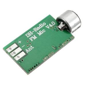 Image 5 - LEORY Modulo Trasmettitore FM Mini Modulo Microfono Senza Fili MICROFONO Senza Fili Trasmettitore Audio FM Emissione MICROFONO Bordo di Centro V4.0 100MH