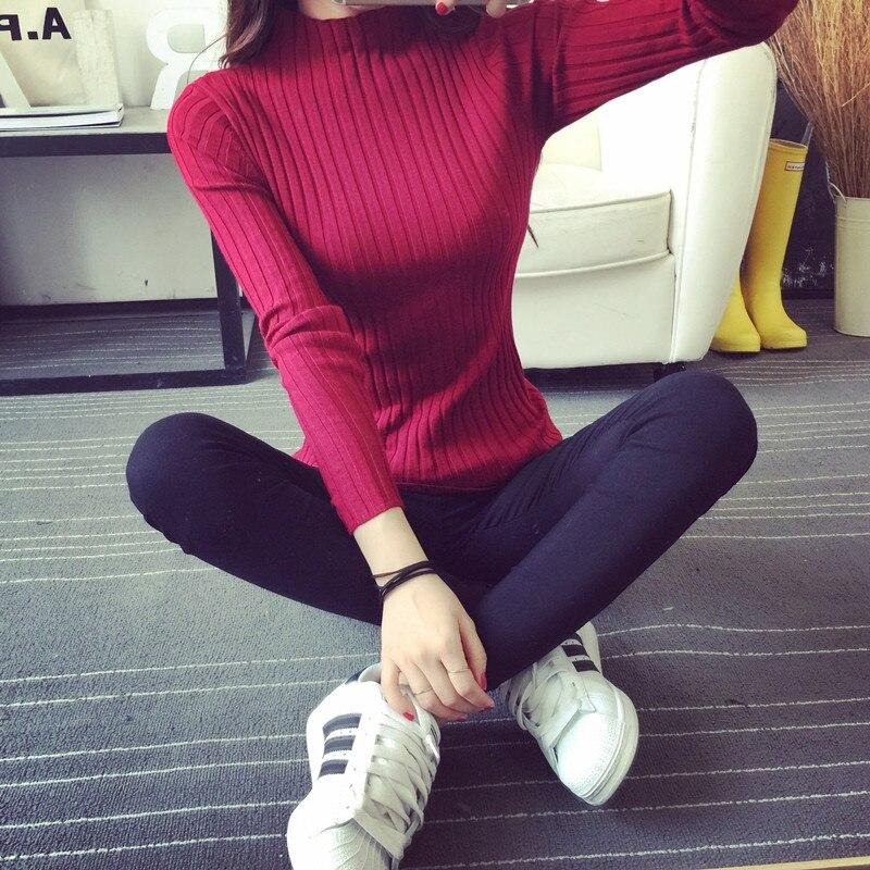 KINDERKLEDING 2018 Gratis Verzending Vrouwen Stretch Gebreide Hemd - Dameskleding - Foto 5