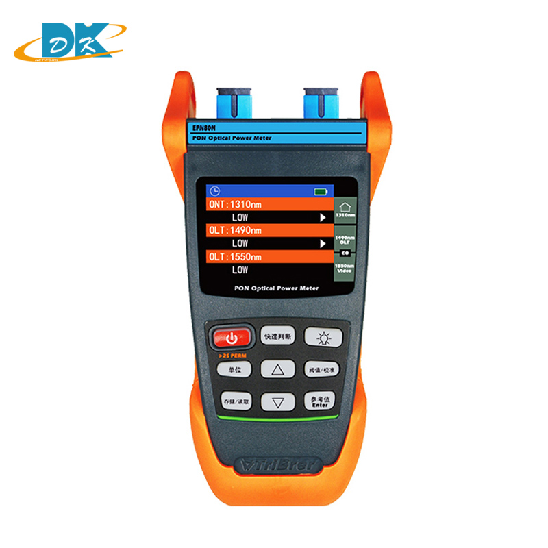 High precision EPN80N PON power meter sinle mode Optical Multifunction Fiber Tools With Chinese languae KeyHigh precision EPN80N PON power meter sinle mode Optical Multifunction Fiber Tools With Chinese languae Key