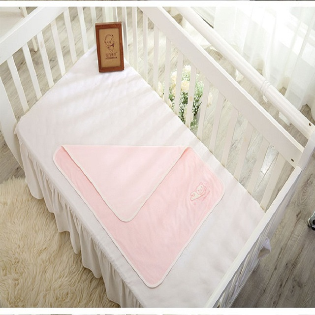 80*60cm Hot Newborn Baby Urine Pad 100% Cotton Soft Comfortable Leakage- proof  Water-proof  Breathable Towel Baby Changing Pads