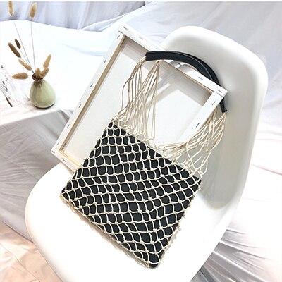 Casual Hollow Net Flap Bag...