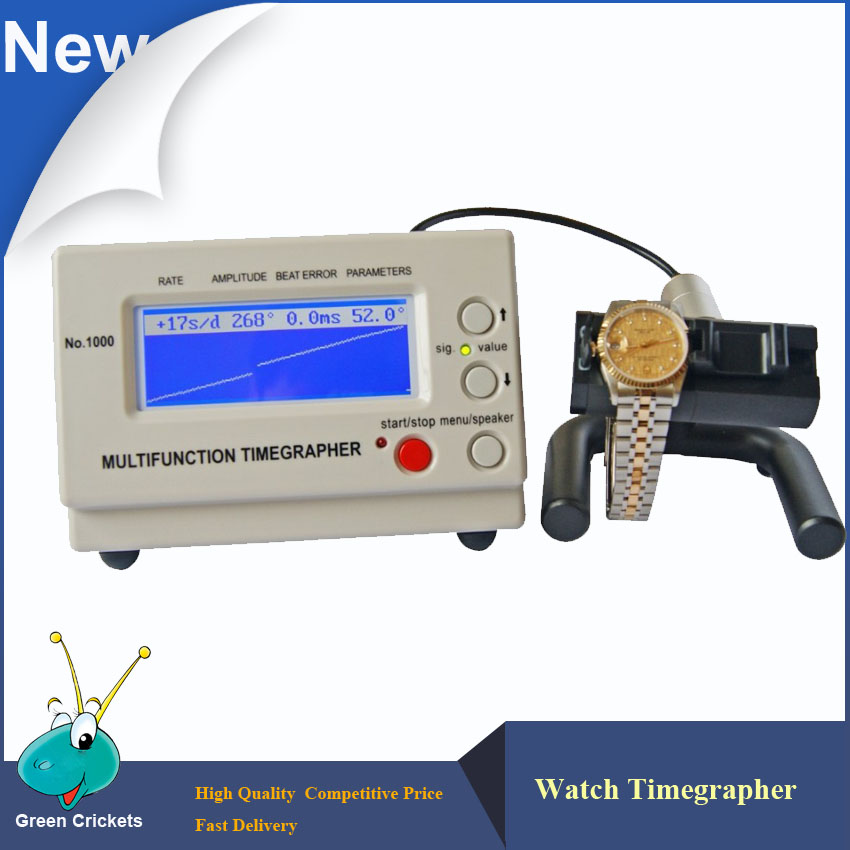 Timegrapher Watch Tester  Machine Multifunction Timegrapher 1000 for Watches repairers and hobbyists 110v automic test cyclotest watch tester watch test machine watch winder for watches