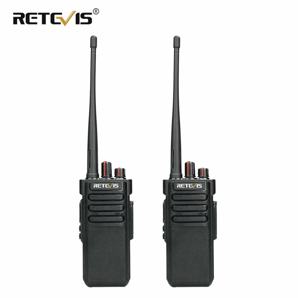 2PCS RETEVIS RT29 Walkie Talkie 10W UHF or VHF IP67 Waterproof VOX CTCSS DCS Handy Two