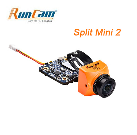 RunCam Split mini 2 FPV Camera MP1080P/60fps HD recording plus WDR NTSC/PAL Switchable for 2.5 / 3 Inch Racing Drone