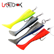 1pcs/pack big artificial soft fish 18cm trolling lure bait deep sea tuna drag flying fish big game large lure sea bait