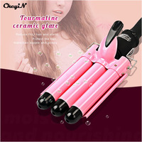 CkeyiN LCD Pro Hair Curler Styler DIY Hair Care Styling Tools Automatic Hair Curl Magic 3