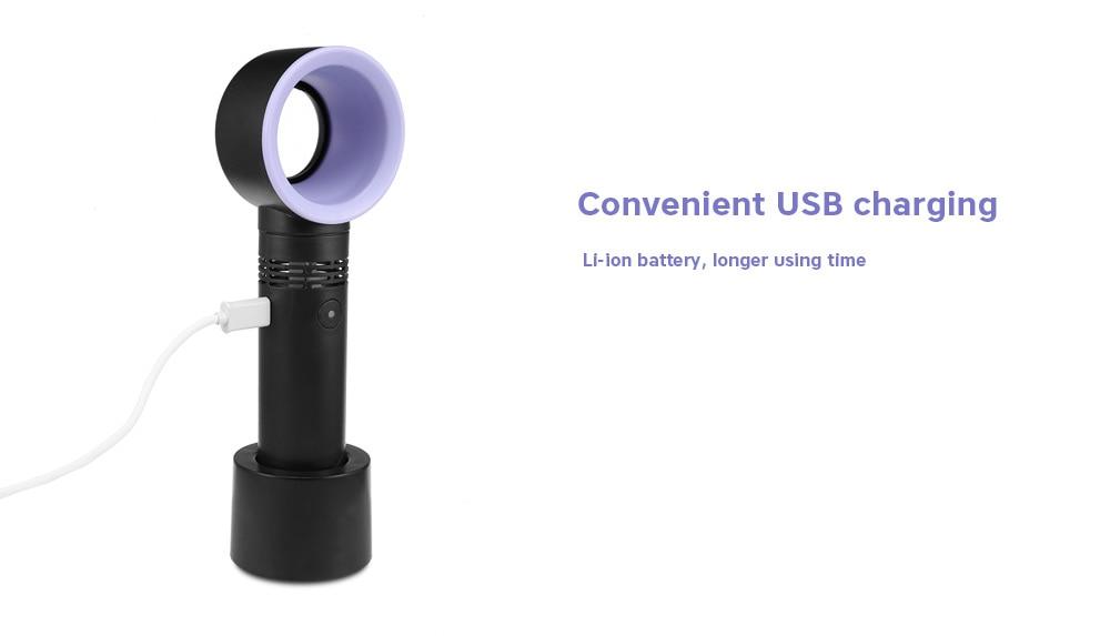 Portable Bladeless Fan- USB Charging