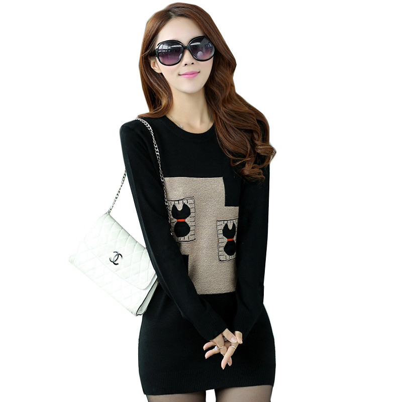 New Women Sweaters 2018 Winter Clothes Casual 1