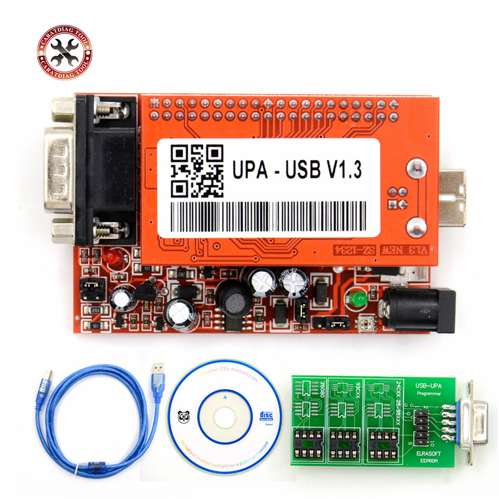 Горячая Распродажа, Новый USB-программатор UPA для версии 2013, Основное устройство для продажи, UPA-USB программатор V1.3, бесплатная доставка