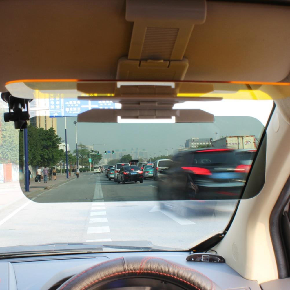 VODOOL Neue ankunft 2 in 1 Auto-Anti-Glare Tag Nacht Fahren Glas Verhindern Blenden Spiegel Brille Spiegel Sonne visiere Schatten