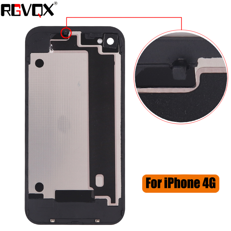 New Battery Cover For iPhone 4 4G 4S Replacement Back Case in Mobile Phone Housings Frames from Cellphones Telecommunications