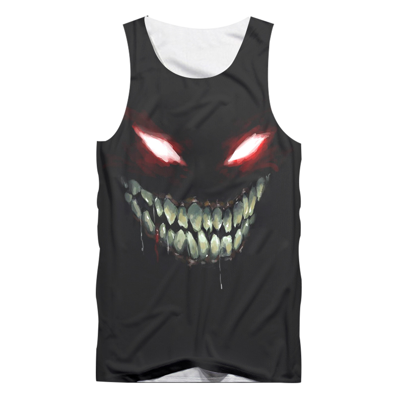UJWI New Fashion 3D Print Horror Dark Souls Tanks Tops Funny Cool Casual  Tops Tees Hazajuku O Neck Summer Vest Wholesale-in Tank Tops from Men s  Clothing on ... 0b6f9d5426e4