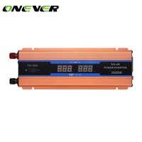 ONEVER автомобильный инвертор 2600 Вт AC/DC 12 V к переменному току 220 V дисплей цифрового вольтметра с модифицированной синусоидой, Мощность защита ...