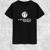 League of Legends lol 2018 s8 Finals IG Invictus Gaming Team Team Conquered T Shirt Men Lol Same T Shirt men summer