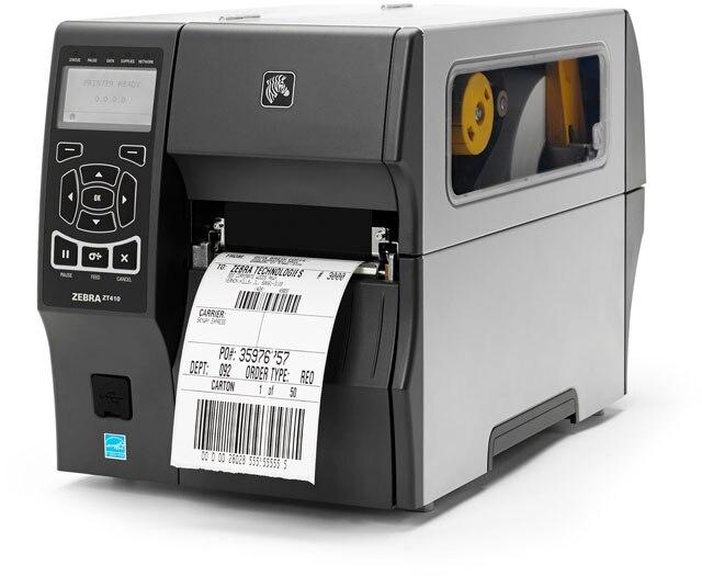 Original Brand New ZEBRA ZT410 Desktop Thermal Transfer And Direct Thermal Modes  Barcode Printer 300dpi Barcode Printer