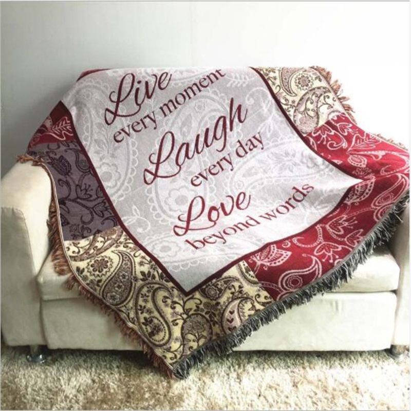 Soft American Style Tapestry Sofa Cover
