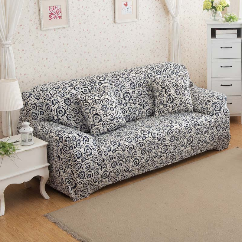 slipcovers 24 colors sofa cover elastic single two three. Black Bedroom Furniture Sets. Home Design Ideas