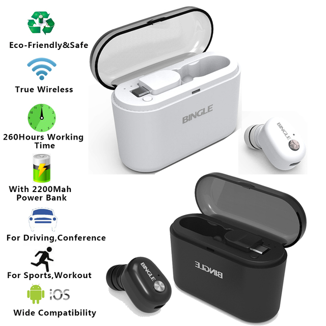 2019 Latest News Stylish Stereo Sports 5.0 True Wireless Bluetooth Earphones TWS Earbuds For Iphone,Samsung,Xiaomi,Smartphones