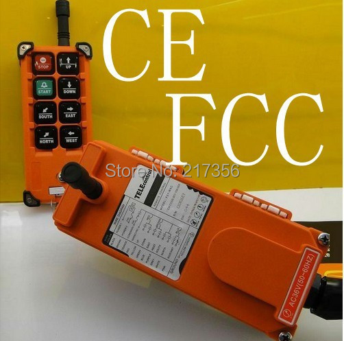 F21 E1B include 2 transmitter and 1 receiver crane remote control