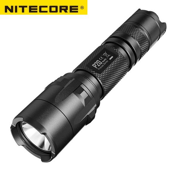 NITECORE P20 800LM Strobe Ready Tactical Flashlight Waterproof 18650 Outdoor Camping Hunting Portable Torch Free shipping-in Portable Lighting Accessories from Lights & Lighting
