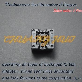 IC TEST new SOP8 test socket 150mil SOP8/SOIC8 ic socket OTS-8(16)-03 socket 1.27mm Pitch 3.9mm Width цена 2017