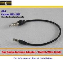 Para Chrysler Sebring/Town & Country/Voyager-Adaptador de Antena de Radio de Coche/Cable Del Interruptor