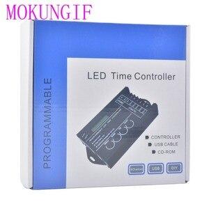 Image 2 - Contrôleur de minuterie RGB TC420 TC421, LED, avec wifi DC12V 24V, 5 canaux, sortie totale 20a Programmable, Anode commune