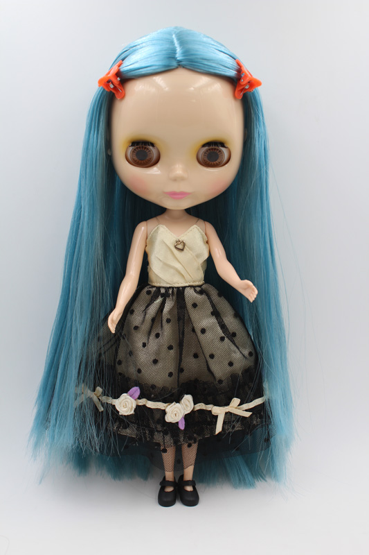 Free Shipping big discount RBL-274DIY Nude Blyth doll birthday gift for girl 4colour big eyes dolls with beautiful Hair cute toy big beautiful eyes косметический набор косметический набор big beautiful eyes