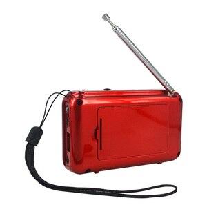 Image 5 - KebidumeiMini ثنائي النطاق قابلة للشحن شاشة LED رقمية لوحة ستيريو FM سماعات راديو صغيرة تعمل لاسلكيًا USB TF ميركو لبطاقة SD مشغل موسيقى MP3