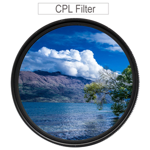 Image 1 - CPL Filter 37 43 46 40.5 49 52 55 58 62mm 67mm 72mm 77mm 82 Circular Polarizer Polarizing Filter for Canon Nikon Sony Fujifilm
