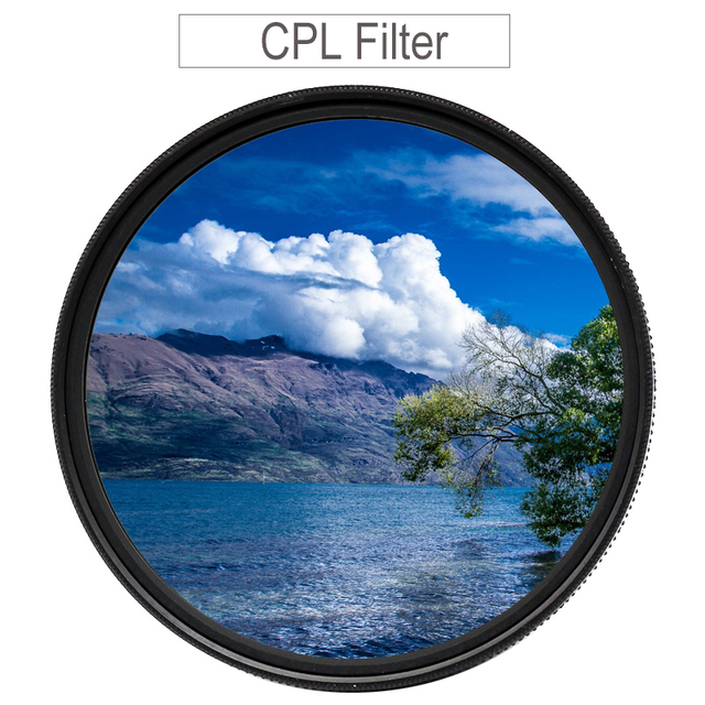 CPL Filter 37 43 46 40.5 49 52 55 58 62mm 67mm 72mm 77mm 82 Circular Polarizer Polarizing Filter for Canon Nikon Sony Fujifilm
