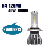 Automobile Trucks LED Headlight H4 9003 HB2 Hi Lo New Pattern No Fan All In One
