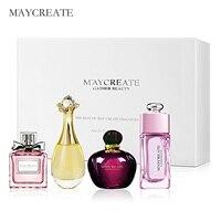 MayCreate 1Set Perfume For Women Lasting Fragrance Parfum Women Perfume Spray Bottle Glass Fashion Lady Flower