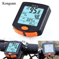 Velocímetro inalámbrico para bicicleta  odómetro para ordenador  impermeable  ciclismo  bicicleta  termómetro  retroiluminación  Contador  velocímetro|Sistemas de navegación para bicicleta| |  -