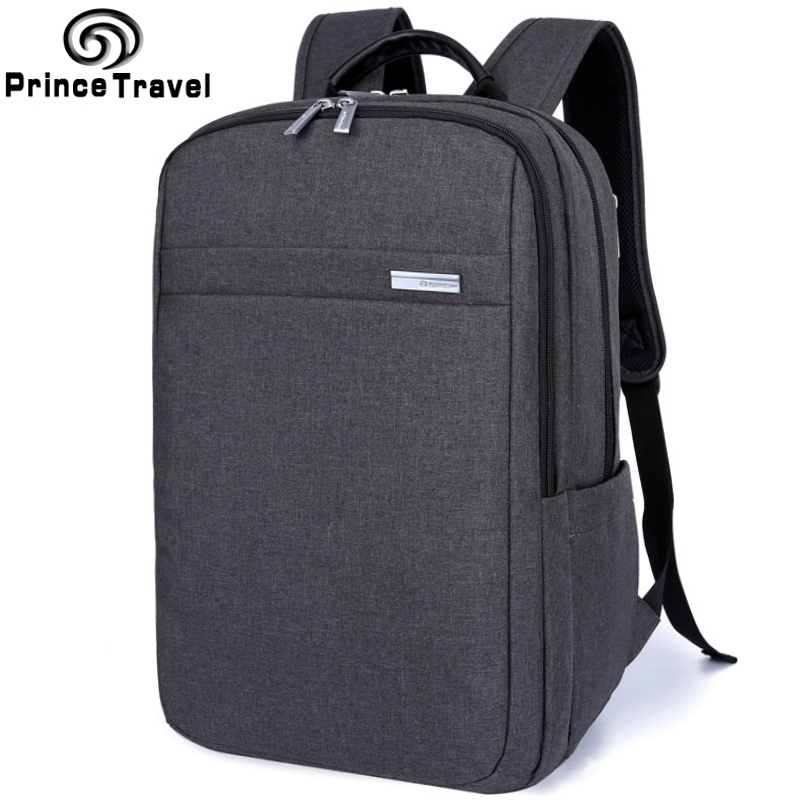 Prince Travel Laptop Backpack Men Multifunctional Unisex Backpack Bags Students School Backpacks Fits Up to 15 Inch Laptop 14 15 15 6 inch flax linen laptop notebook backpack bags case school backpack for travel shopping climbing men women