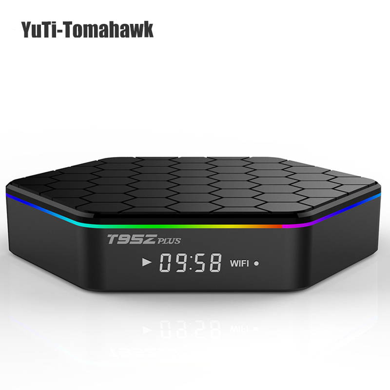 Original T95Z Plus 2GB 16GB 3GB 32GB Amlogic S912 Octa Core Android 7.1 OS Smart TV BOX 2.4G/5G Dual Band WiFi T95ZPLUS 4K BT genuine sunvell t95z plus android smart tv box amlogic s912 octa core 4kx2k 2 4g 5g dual band wifi set top box