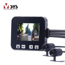 SYS motocam с двумя камерами запись спереди и сзади в то же время