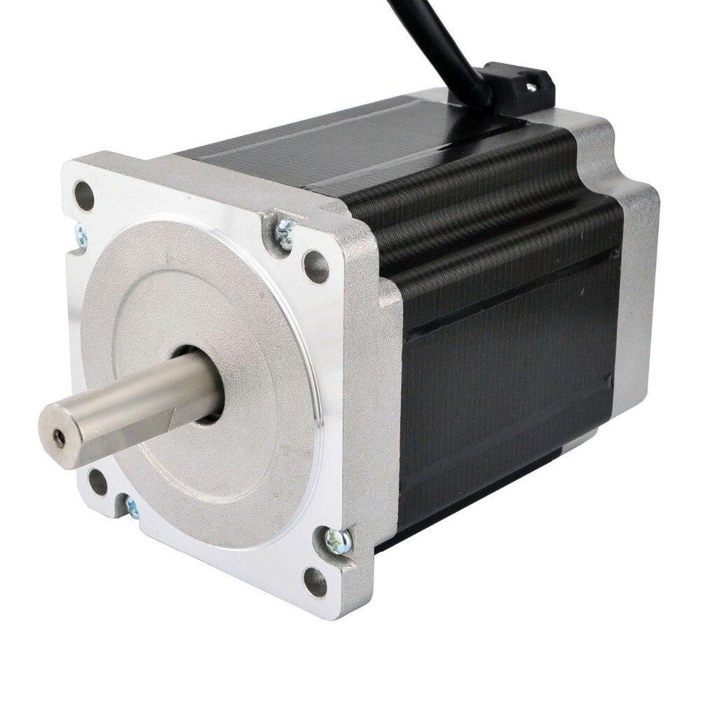 Nema 34 Stepper Motor 8 5Nm 1204oz in 5A 4 wire 14mm Dual Shaft DIY CNC